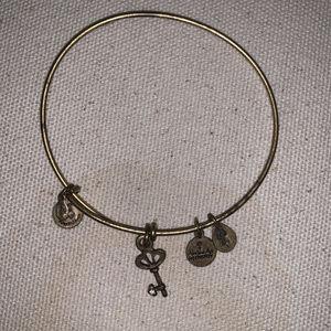 Alex and Ani Key Bracelet